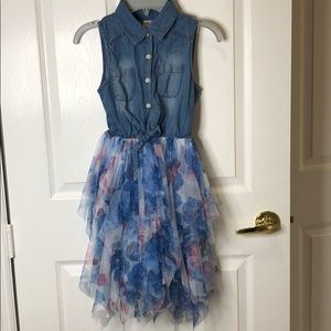 Justice girls dress size 10